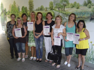 Workshop Naildesign im August 2009